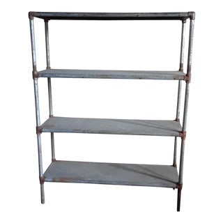 Late 20th Century Four Shelf Display Case For Sale
