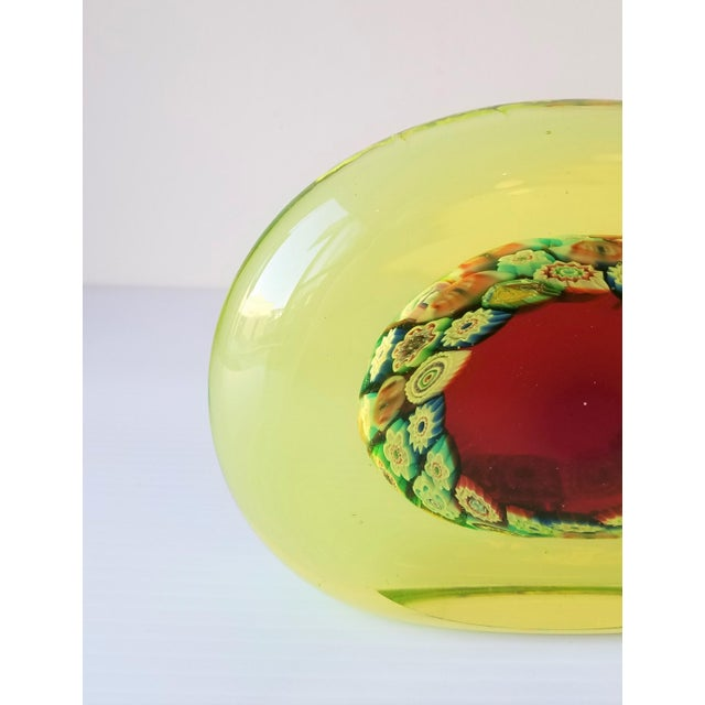 Galliano Ferro 1950s Galliano Ferro Murano Glass Pin Wheel Bookends for Fornasa De Mvran a l'Insegna Moreto - a Pair For Sale - Image 4 of 8
