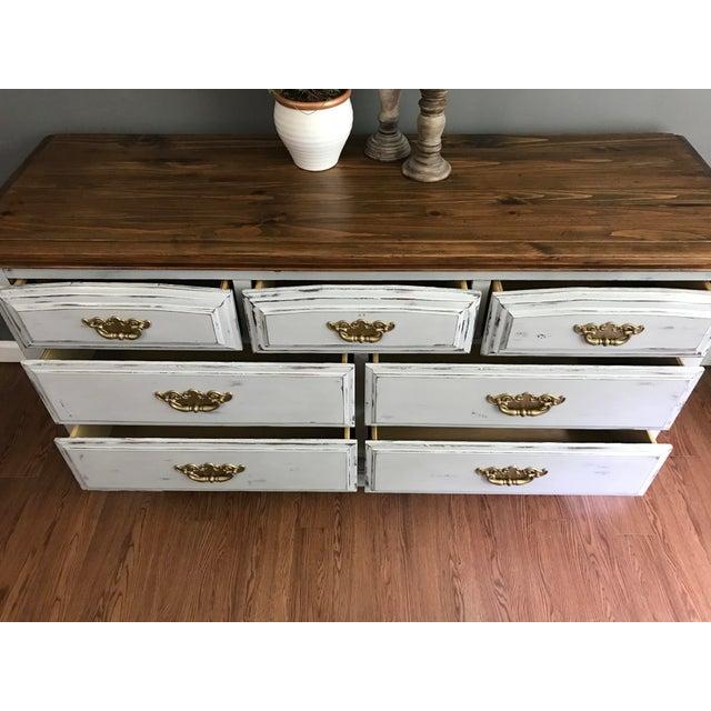 Vintage Distressed Dresser - Image 6 of 11