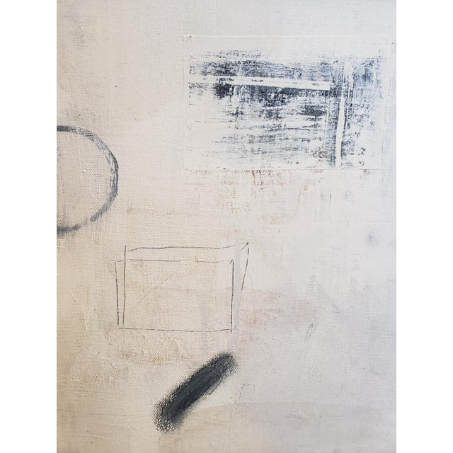 """Abstract """"Untitled"""" Robert Kingston Abstract Painting For Sale - Image 3 of 6"""