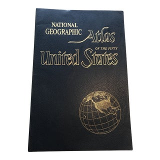 Vintage 1960 National Geographic U. S. Atlas Book