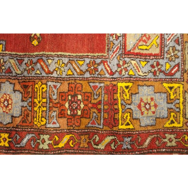 """Early 20th Century Turkish Prayer Rug - 48"""" x 64"""" For Sale - Image 4 of 4"""