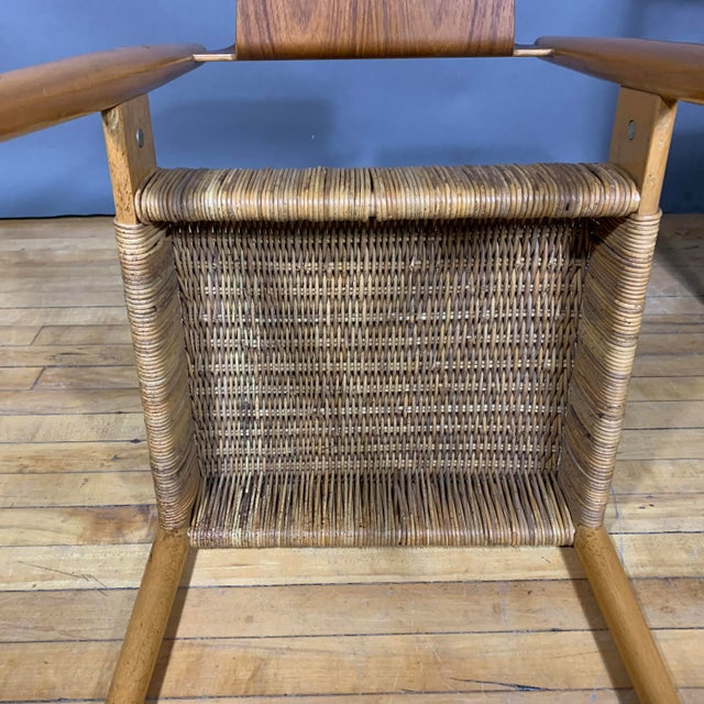 1950s Egon Eiermann Church Chairs- Set of 4 For Sale - Image 12 of 13