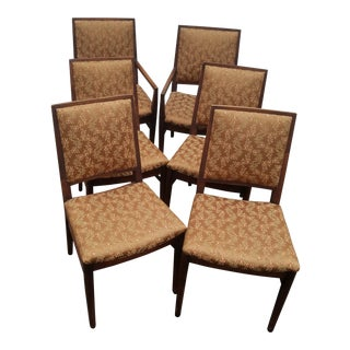 Mid-Century Modern John Stuart Dining Chairs - Set of 6 For Sale