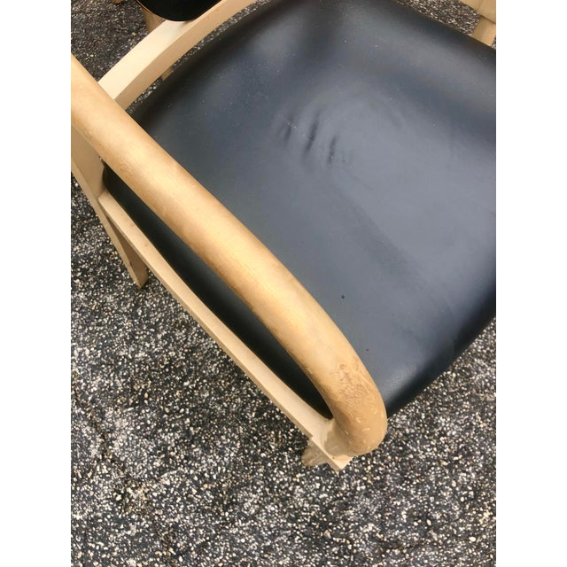 Vintage Custom Hand Made Neoclassical Dining Chairs- Set of 6 For Sale In Miami - Image 6 of 9
