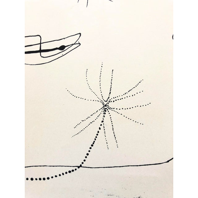 Abstract Jerry Opper 1940-50s Abstract Line Print For Sale - Image 3 of 7