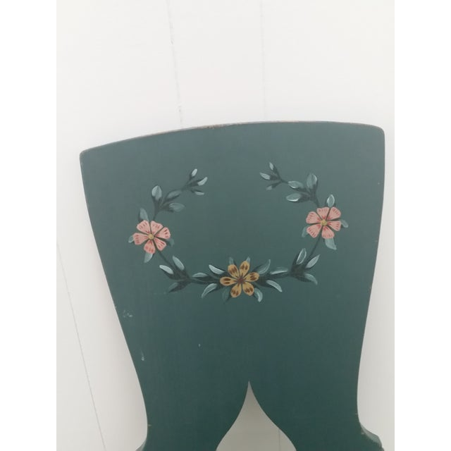 Mid-Century Modern 1900s Swedish Painted Kitchen Chairs - Set of 6 For Sale - Image 3 of 6