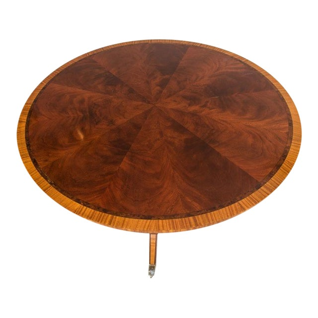 English Victorian Rosewood Dining Table - Image 1 of 5