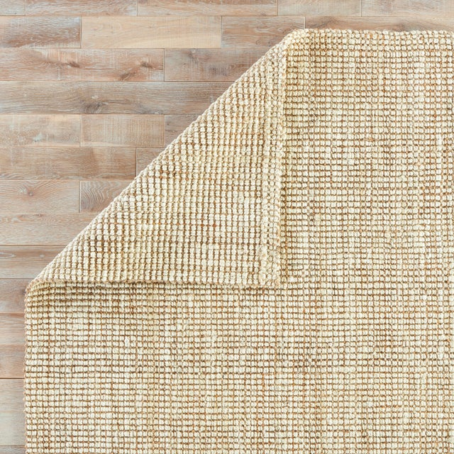 Jaipur Living Mayen Natural Solid White & Tan Area Rug - 10' X 14' For Sale - Image 4 of 6