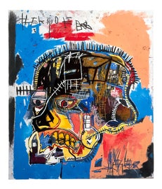 Image of Newly Made Jean Michel Basquiat