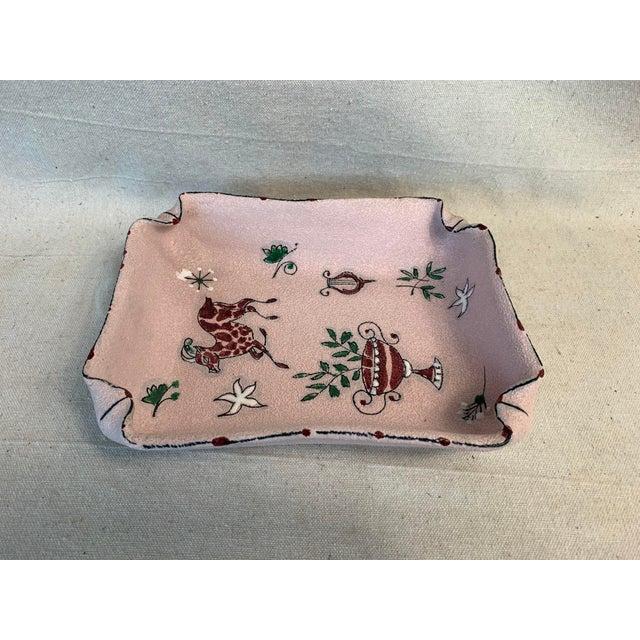 Ceramic Mid-Century Modern Fratelli Fanciullacci Ceramic Dish For Sale - Image 7 of 12