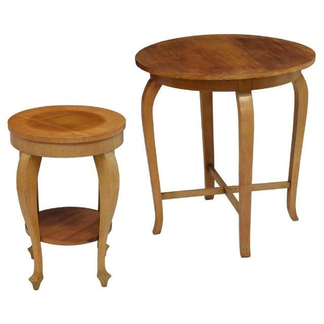 Green Art Nouveau Parlor Furniture - Set of 5 For Sale - Image 8 of 11