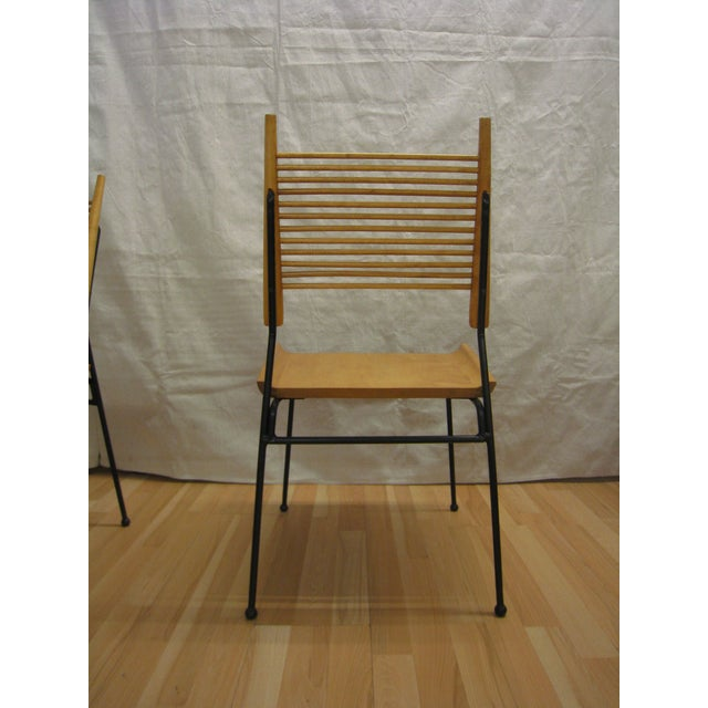 1950s Vintage Paul McCobb Shovel Chairs 4 For Sale - Image 5 of 9