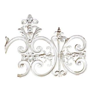 18th C. French Zinc Architectural Element For Sale