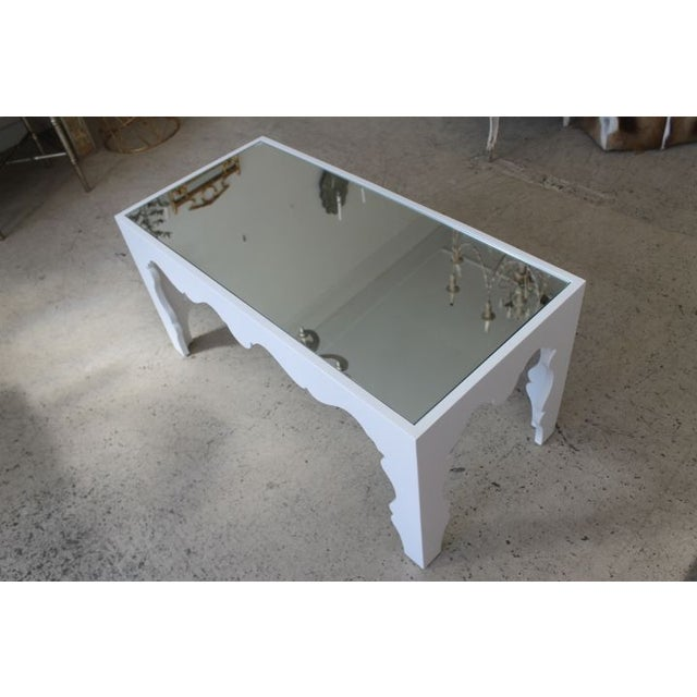 White Lacquered Coffee Table - Image 2 of 7