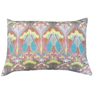 Liberty of London Art Nouveau Pillow