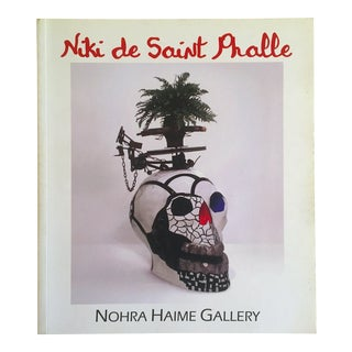 """ Niki De Saint Phalle Retrospective 1960 - 2002 "" Exhibition Catalog Art Book"