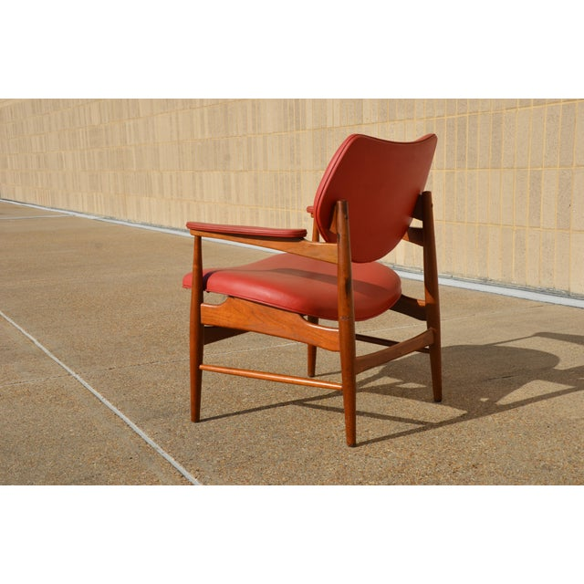 Vintage Mid Century Modern Thonet Walnut Armchair Chairish