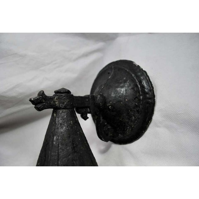 English 1920s Aluminum Outdoor Sconces - a Pair For Sale - Image 3 of 7