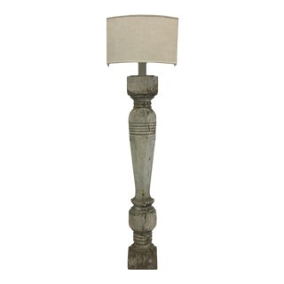 Architectural Wooden Lamp