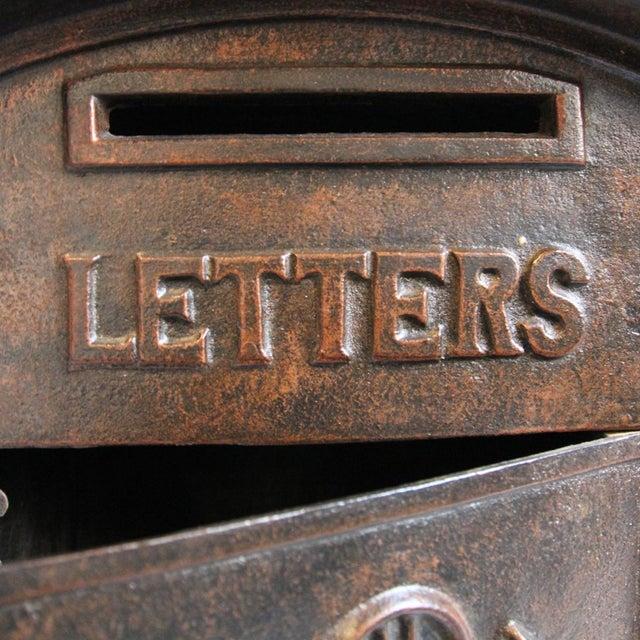 Antique Iron Mail Box - Image 4 of 5