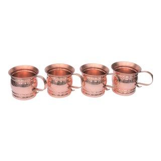 Vintage Copper Mule Mugs - Set of 4 For Sale