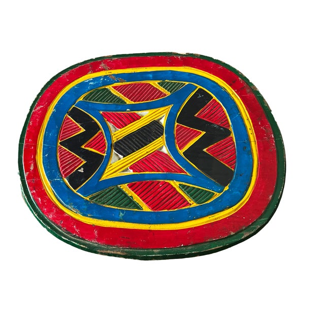 """1960s African Old Nupe Stool Nigeria 12"""" H For Sale - Image 5 of 8"""
