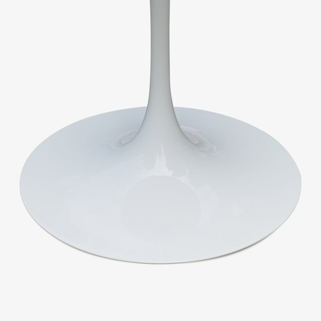 """Knoll Pedestal """"Tulip"""" Table in Laminate by Eero Saarinen for Knoll For Sale - Image 4 of 7"""
