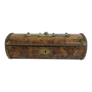 19th C. Bronze Decorated Continental Box