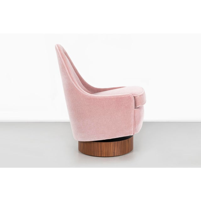Milo Baughman Child's Size Swivel Chairs For Sale - Image 9 of 13