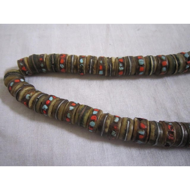 African Currency Bone Trade Beads - Image 4 of 6