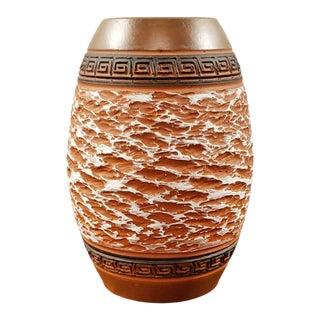1950s Alfred Krupp Klinker Vase for Akru Keramik 71/15 For Sale