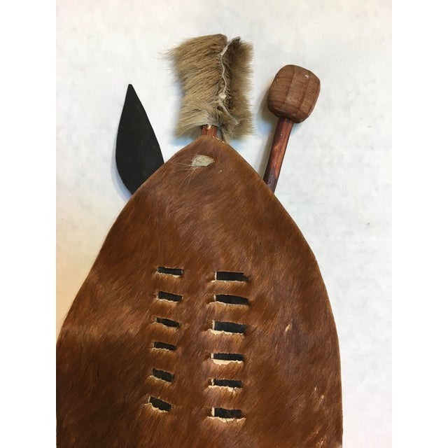 Native American Indian Shield - Image 3 of 5