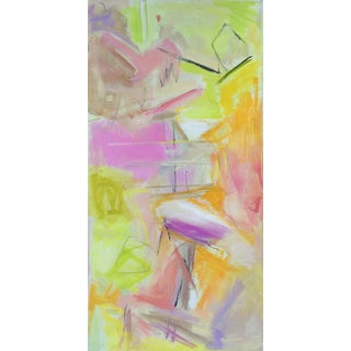 """""""Upward Bound"""" by Trixie Pitts Neutral Abstract Expressionist Oil Painting For Sale"""