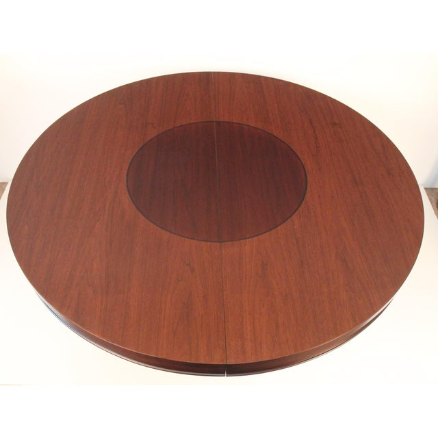 Mid-Century Modern Walnut Dining Table - Image 3 of 5