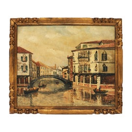 Image of Newly Made Venice Oil Paintings