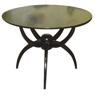 "Custom Ebonized ""Spider Table"" For Sale"