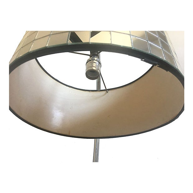 Hollywood Regency Lamp & Shade For Sale In Austin - Image 6 of 10