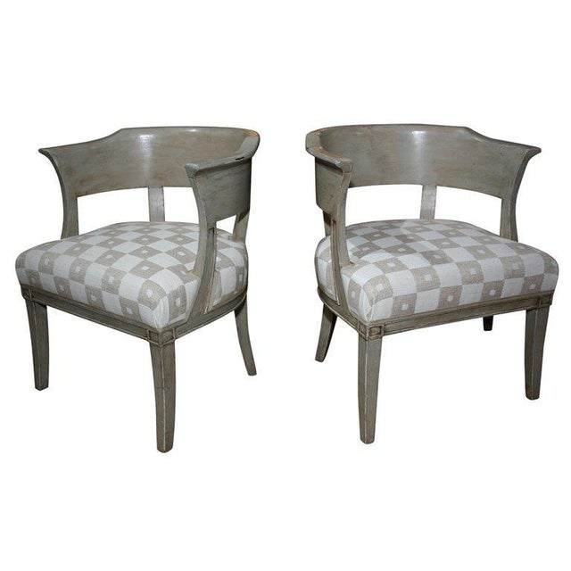 Pair of French Armchairs For Sale - Image 10 of 10