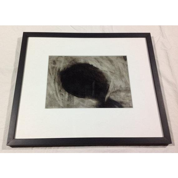 """""""Isolation"""" Charcoal Drawing - Image 3 of 4"""
