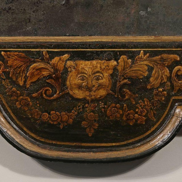 George II Japanned Mirror For Sale In New York - Image 6 of 7