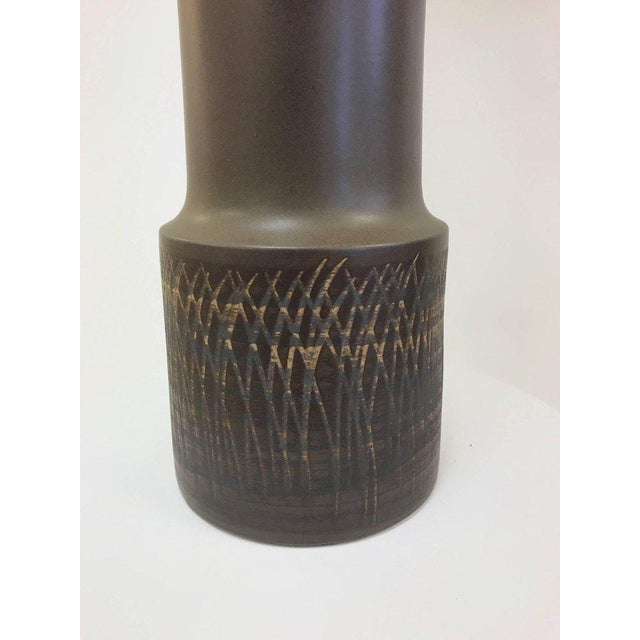 Gordon Martz Tall Gordon Martz Ceramic Lamp For Sale - Image 4 of 7