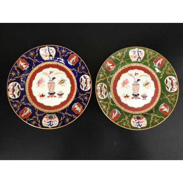Antique Ashworth Mason's Ironstone Imari Plates - A Pair For Sale - Image 10 of 10