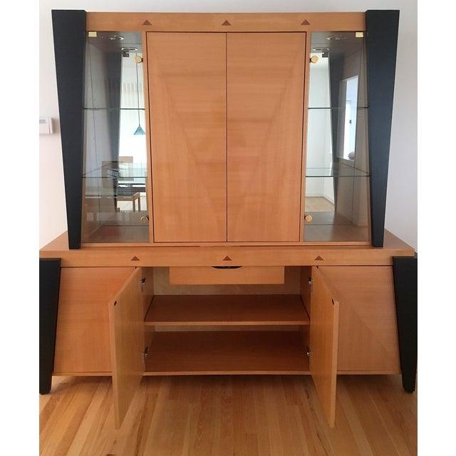 Contemporary Custom Dining Room Hutch/Buffet - Image 5 of 7