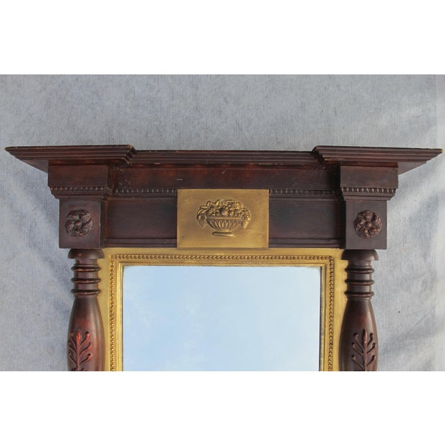 Large Federal Style Mirror For Sale - Image 10 of 11