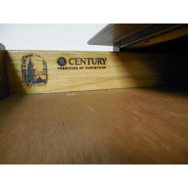 Century Furniture Henry Ford Museum Mahogany Chippendale Style Low Boy Chest For Sale - Image 5 of 11