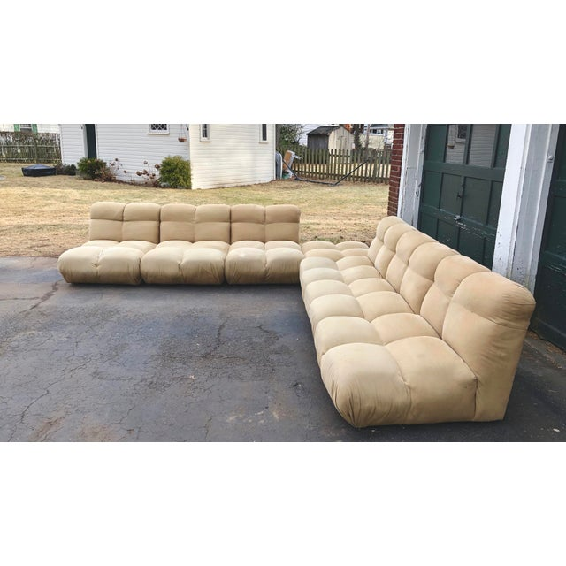 1970s 1970s Vintaeg Mario Bellini Camaleonda Style Modular Sofa For Sale - Image 5 of 13