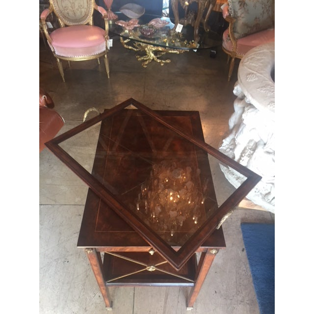 Drinks Cart Tea Table With Removable Tray Top For Sale - Image 4 of 9