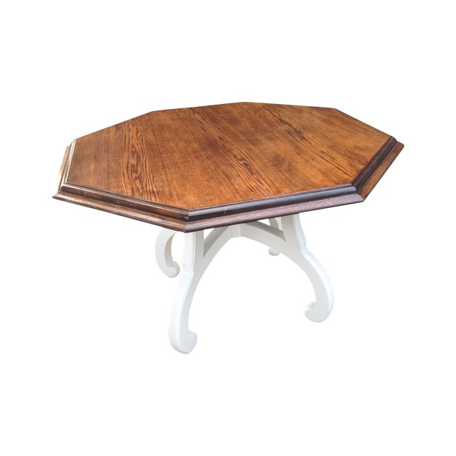 Vintage Octagonal Table - Image 1 of 5