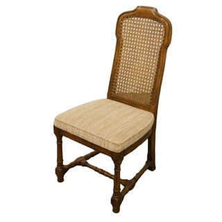 Late 20th Century Vintage Drexel Heritage Italian Provincial Cane Back Dining Side Chair Preview